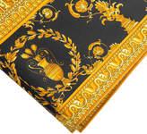 Versace Barocco & Robe Flat Sheet - 270x300cm - Gold/Black