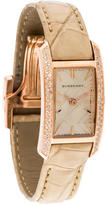 Burberry Limited Edition Diamond Watch