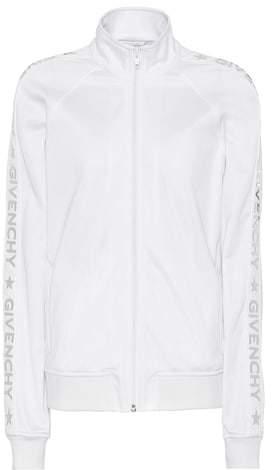 Givenchy Appliquéd jersey jacket