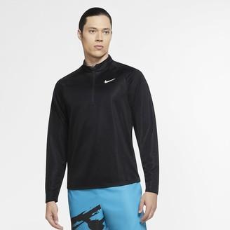 Nike Men's Long-Sleeve 1/2-Zip Tennis Top NikeCourt Challenger
