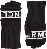 Moncler Logo Knitted Gloves