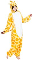 NewChic Unisex-adult All in One Giraffe Onesie Pyjamas Plush One Piece Cosplay L