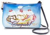 Sharif Handpainted Leather Crossbody Bag