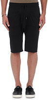 NSF Men's Duro Cotton-Blend Drop-Rise Shorts-BLACK