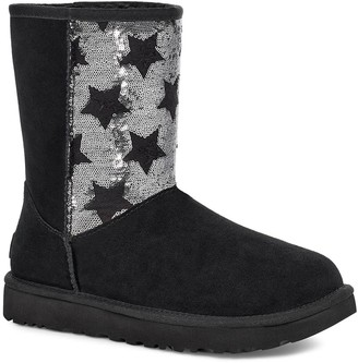 UGG CLASSIC Sequin Stars Short Boot