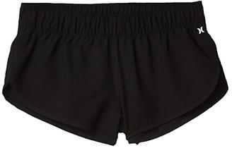 Hurley Supersuede Beachrider Boardshorts (Black) Women's Swimwear