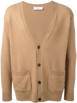 Ami Alexandre Mattiussi oversized fit cardigan - men - Cashmere/Wool - XS