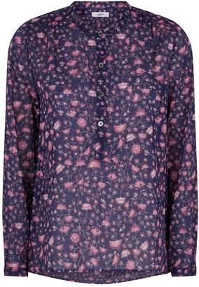 Etoile Isabel Marant Floral Print Cotton Blouse