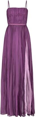 Monique Singh Iconic Romantic Silk Indo Western Evening Gown