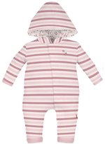 Magnificent Baby Hooded Bedford Stripe Coverall