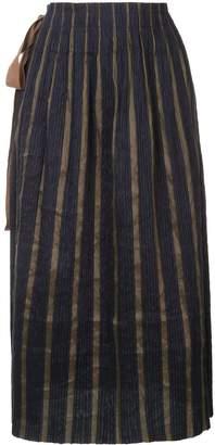 UMA WANG Knot-Detail Pleated Skirt