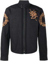 Dries Van Noten embroidered harrington jacket
