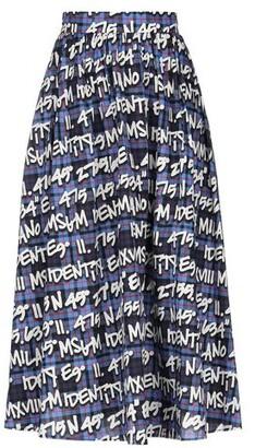 MSGM 3/4 length skirt