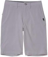 Quiksilver Union Amphibian 19 (Big Kids) (Sleet) Boy's Shorts
