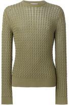 Ami Alexandre Mattiussi cable knit jumper