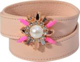 Shourouk Triple Wrap Beedis Bracelet