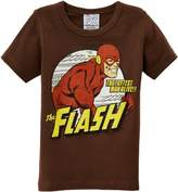 Logoshirt DC Flash Fastest Man Alive Printed Boy's T-Shirt