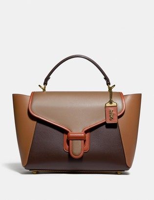 Coach Courier Carryall In Colorblock
