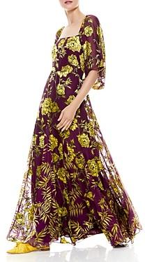 Alice + Olivia Clarine Floral Print Dress