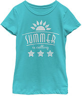 Fifth Sun Tahiti Blue 'Summer Is Calling' Tee - Toddler & Girls