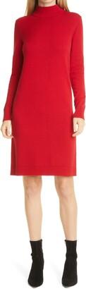 HUGO BOSS Fabelletta Long Sleeve Sweater Dress