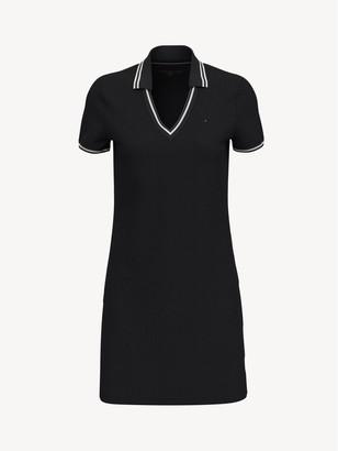 Tommy Hilfiger Essential V-Neck Polo Dress