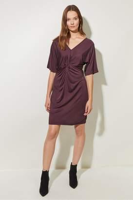 Great Plains Silky Jersey V Neck Dress