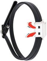 McQ mini 'Electro Bunny' wrap bracelet