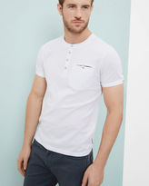 Ted Baker Cotton Henley Tshirt
