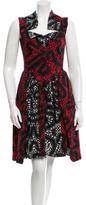 Vivienne Westwood Printed Pleated Dress