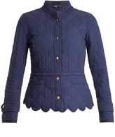 Burberry Wenlock quilted-cotton jacket