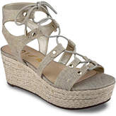 Unisa Women's Brilee Wedge Sandal -Navy Denim