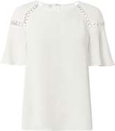 A.L.C. Sheila Ring Detail Blouse