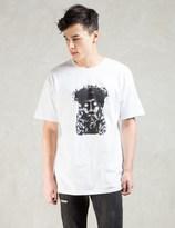 Black Scale White Wooden Savior T-shirt
