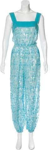 Dolce & Gabbana Embroidered Straight-Leg Jumpsuit
