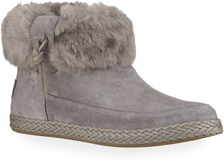 UGG Elowen Shearling Zip Booties