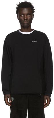 Saturdays NYC Black Aaron Sweatshirt