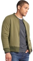 Gap Sherpa-lined zip bomber