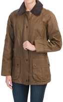 Barbour Beadnell Thornproof Jacket - Satin Waxed Cotton (For Women)