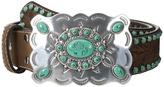 Nocona M&F Western Southwest Turquoise Buckle Belt Women's Belts