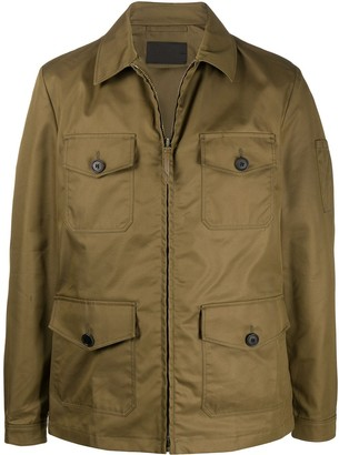 Prada Zipped Military Jacket