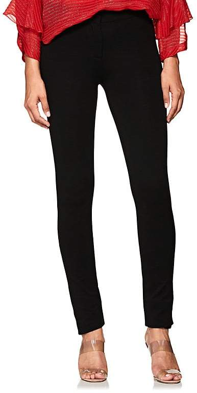 Derek Lam Women's Stretch-Crepe Slim Trousers