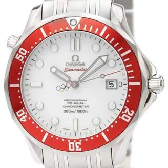 Omega Seamaster White Steel Watches