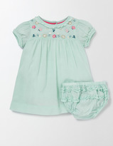 Boden Embroidered Smock Dress
