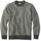 L.L. Bean Heritage Sweater, Norwegian Crewneck Lattice