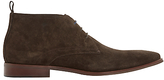Dune Murray Suede Formal Chukka Boots