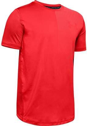 Under Armour Boys' UA MK-1 Short Sleeve T-Shirt