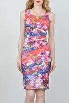 Joseph Ribkoff Splash Print Dress