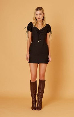 Finders Keepers SHORES MINI DRESS black