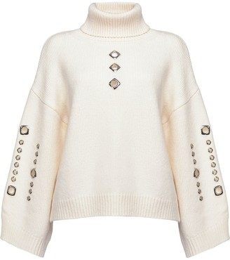 Pinko Chunky Roll-Neck Jumper